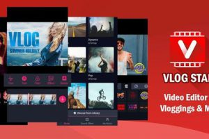 Vlog Star for YouTube – free video editor & maker Apk