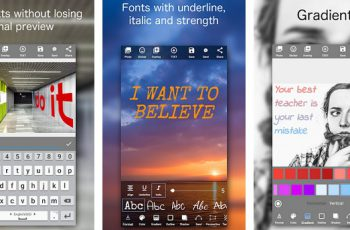 Add Text on Photo Design Text Style 800+ Fonts Apk