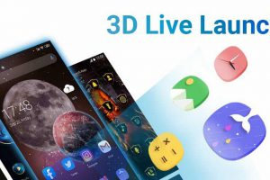 3D Launcher – Your Perfect 3D Live Launcher Apk