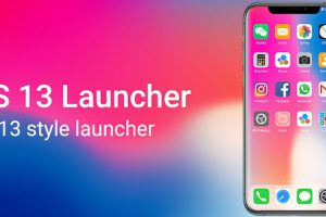 OS13 Launcher Control Center i OS13 Theme Apk