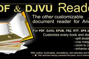 PDF and DJVU Reader Apk