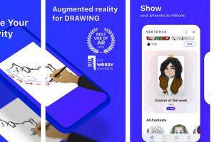 SketchAR learn to draw step by step with AR Apk