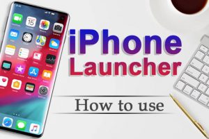 Phone 12 Launcher, OS 14 iLauncher, Control Center Apk