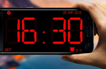 Huge Digital Clock Pro Apk