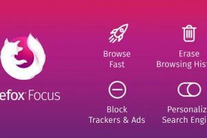 Firefox Focus The privacy browser Apk