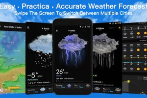 Live Weather & Accurate Weather Radar – WeaSce Apk