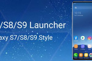 S7 S8 S9 Launcher for Galaxy S A J C 9 theme Apk