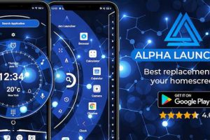 Alpha Hybrid Launcher 2021 Free Wallpaper Apk