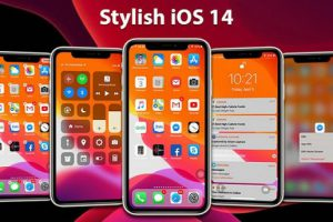 Launcher iOS 14 Apk