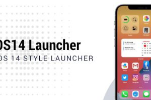 OS14 Launcher Control Center App Library i OS14 Apk