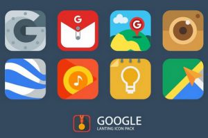Lanting Icon Pack Material and Colorful Apk