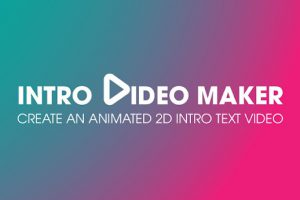 Intro video maker logo and text animation Apk